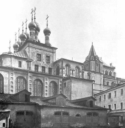 The Terem Palace in the Kremlin